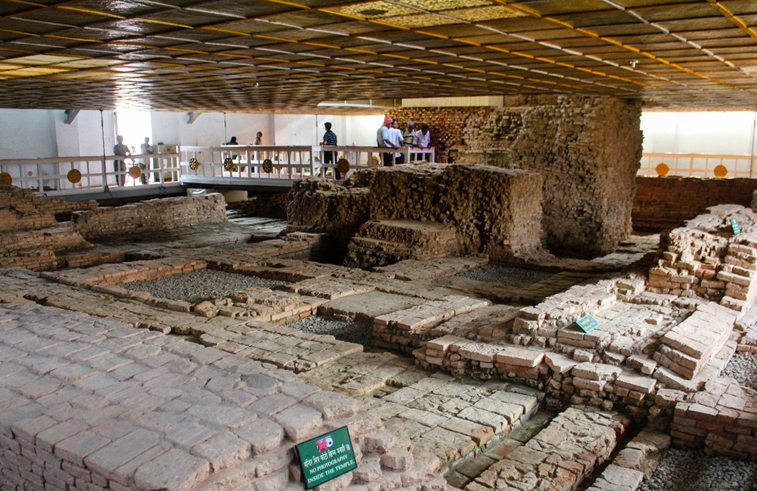 The Archaeological relics of the Buddha's life