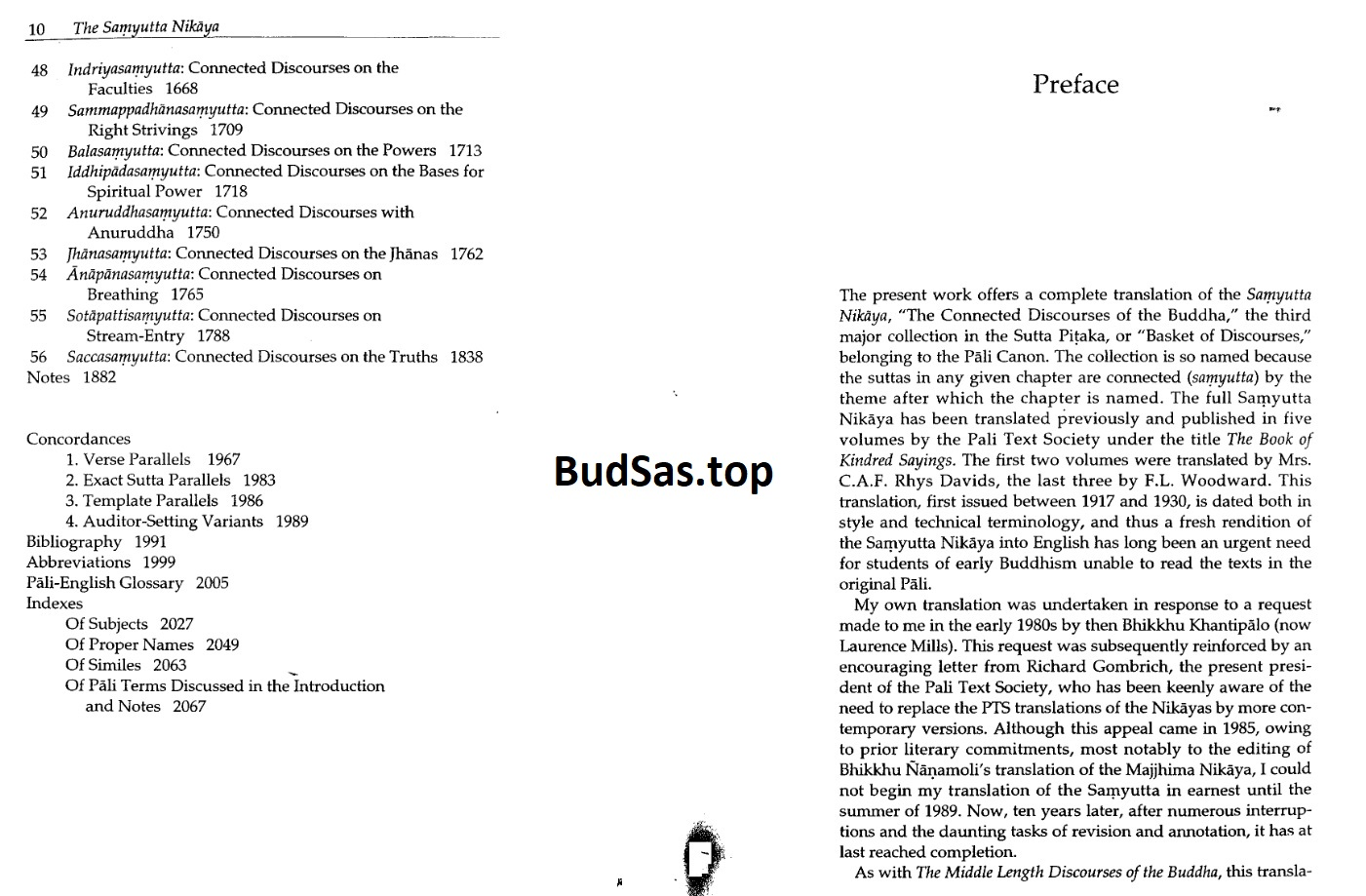 The Collected Discourses of the Buddha